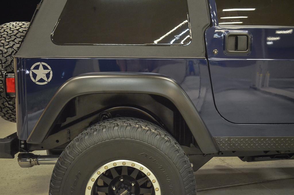 Rare 1997 Jeep Wrangler – Dark Montego Blue Pearl- Paint ...